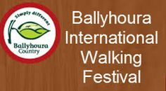 Ballyhoura International Walking Festival, 3 - 6 May 2013 : The festival offers over 30 guided walks, led by people from local communities and the Ballyhoura Bears Walking Club. There are walks for all levels of ability from undulating green pastures, woodlands & rolling hills to the high peaks of the Galty Mountains.