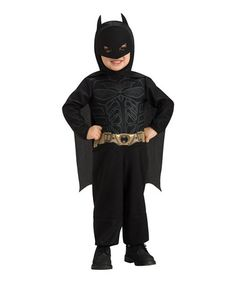 Take a look at this Black Batman Dress-Up Outfit - Infant & Toddler by Batman on #zulily today!
