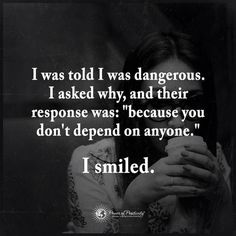 84 Best Dont Depend On Someone Images Quote Life Random Quotes