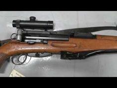 Swiss ZfK-55 sniper rifle - YouTube