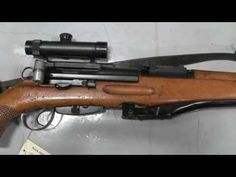 Swiss ZfK-55 sniper rifle - YouTube