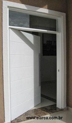 Estilo desde a entrada até os fundos da casa!      As portas são peças importantes e fundamentais em uma decoração de interiores! São e...
