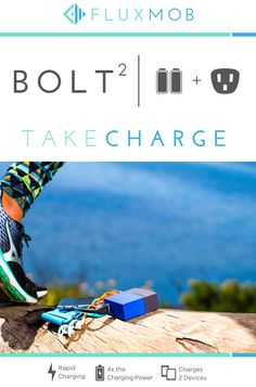 BOLT² World's Smallest 2.4A Battery Backup + Wall Charger by Fluxmob — Kickstarter