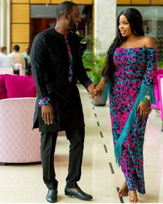 The most classic collection of beautiful traditional and ankara styles and designs for couples. These ankara styles collections are meant for beautiful African ankara couples Couples African Outfits, Couple Outfits, African Attire, African Wear, African Dress, Twin Outfits, Family Outfits, African Men Fashion, African Fashion Dresses