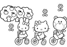 Get The Best Printable Hello Kitty Coloring Pages 40 Free