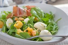 Rucola-Mozzarella Salat