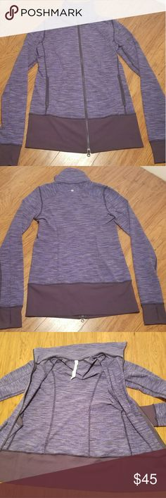 Lululemon Long Sleeve Breathable Jacket Size: Small (6) Color: Various Shades Of Purple Price: $44.99 lululemon athletica Jackets & Coats