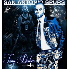 Our GQ point guard, Tony Parker.