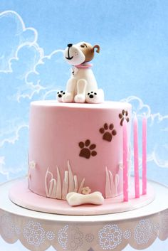 Dog Design Cake Recipes : 1000+ ideas about Animal Birthday Cakes on Pinterest ...
