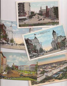 Pennsylvania Avenue Washington DC Street Scenes, antique and vintage postcard lot