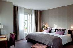 Hotel Parc Saint Séverin - The terrace room - Paris ©yannmonel Paris Hotels, Europe Destinations, Trip Advisor, Terrace, Places To Go, The Neighbourhood, Bed, Room, Furniture