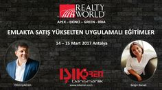 Geçen hafta İstanbul'da yaptığımız çok beğeni alan uygulamalı #emlak eğitimlerimizi bu kez Realty World Apex - Ekinci - Green ve Riba ofislerine özel olarak Antalya'da gerçekleştireceğiz. Emlakta #satış yükselten eğitimlerimiz Nisan ayında yeniden İstanbul'da yapılacak, maksimum 20 kişiye özel bu bu uygulamalı #gayrimenkul eğitimlerine katılmak için başvurunuzu hemen info@isikoren.com'a yapabilirsiniz. İyi haftalar :)
