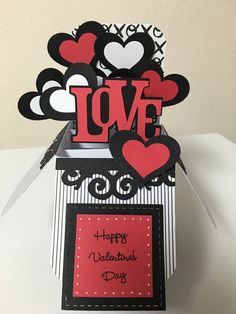 A personal favorite from my Etsy shop https://www.etsy.com/listing/264240001/love-happy-valentines-day-card-in-a-box