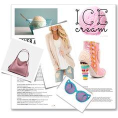 Irregular clothing, ice cream, Coach, style, magazine, kawaii, cute,
