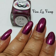 anonymous lacquer viva la vamp (polished vamps customs)