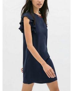 Elegant quality Butterfly sleeve Dress