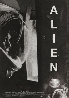 "Ridley Scott's ""Alien"" - still gets me even though I know its coming."