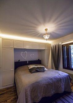 Tunnelma makuuhuoneessa on tärkeää. Sen pystyy saavuttamaan vaikka epäsuoralla valaistuksella ja ripauksella jotain itselle arvokasta. http://www.winled.fi/