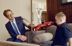 A 7-year-old boy now sports one of the coolest Iron Man-themed prosthetics - for a fraction of the cost of other bionic arms.