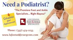 Foot and Ankle Therapy in Lake Charles