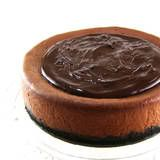 One Perfect Bite: Triple-Chocolate Cheese Cake Need to play with a GF version - shouldn't be too hard!