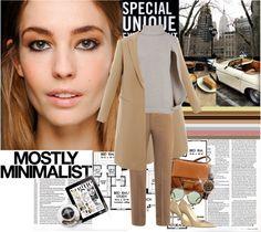 """Mostly minimalist"" by naki14 ❤ liked on Polyvore"