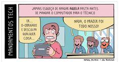 """Mandamentos Tech - parte 4"""