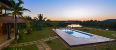 It's summer in India, but just the right time to book your luxury villa in Goa for the winter holidays. Especially if you would like to stay in a stunning place like this. This is a 4 bedroom private pool villa with jacuzzi pool and stunning river views from all rooms. What's more, we will customize your Indian holiday in Goa to suit your unique needs.   Sounds interesting? Write to reservations@goseekandhide.com  #goaholidays