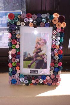 Button frame