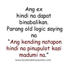 Quotes on Pinterest Tagalog Love Quotes, Tagalog Quotes and Sad Love ...