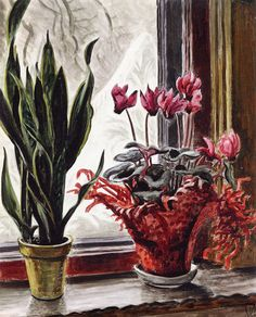 Charles Burchfield - The Frosted Window.