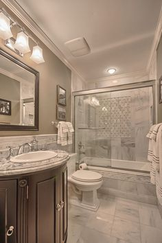 Marble countertops are expensive. Get the look without the high price tags with these marble alternative ideas. Bathroom Remodel Pictures, Restroom Remodel, Diy Bathroom Remodel, Bathroom Ideas, Bathroom Storage, Taupe Bathroom, White Marble Bathrooms, Bathroom Design Luxury, Bathroom Design Small