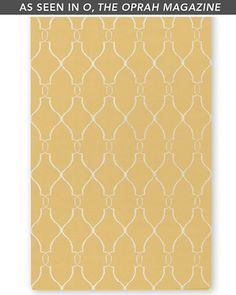 For under the kitchen table Bogart Flat-Weave Wool Rug