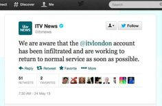 Syrian Electronic Army Hacks Twitter Account Of UKs ITV News -  [Click on Image Or Source on Top to See Full News]