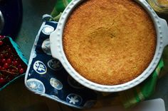 gluten-free cornbread (perfect, perfect) I substituted guar gum for psyllium but only because that's all I had. Will try it again with the psyllium. Gluten Free Treats, Gluten Free Desserts, Gf Recipes, Gluten Free Recipes, Sin Gluten, Gluten Free Cornbread, Cornbread Recipes, Gluten Free Living, Foods With Gluten