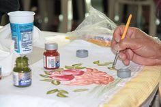materiais para pintura em tecido