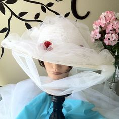 Mary Poppins Jolly Holiday Hat by NerdPoppins on Etsy, $65.00