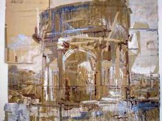 Valery Koshlyakov - Arch Expensive Art, Cardboard Art, A Level Art, Building Art, Old Art, Beautiful Paintings, Art And Architecture, Artist At Work, Art Lessons