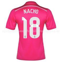 Nacho de Camiseta Del Real Madrid Segunda Equipacion 2014 2015 db4ddff0c6ea6