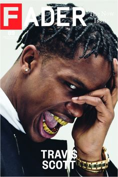 Travis Scott / The Fader Issue 89 Cover