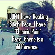 I mean, I'm a bitch too but still... #Understandingmigraines