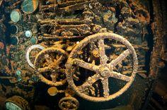 engine room ship wreck
