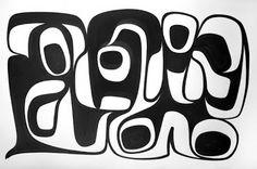 "Super Dope  Sheldon Skillie 2009 © Ink on 100% Cotton Rag Paper 32"" x 40"""