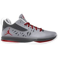 Jordan CP3.V - Men's - Basketball - Shoes - White/Metallic Silver