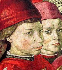 Lorenzo de' Medici and his brother Giuliano (La cavalcata deiMagi di Benozzo Gozzoli)