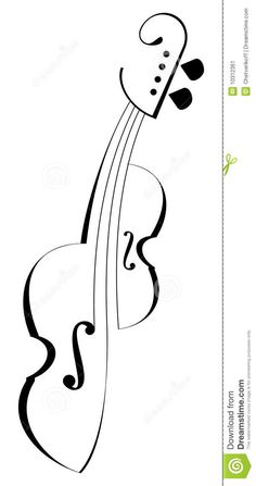 Illustration of notes, acoustic - 10312361 Music Drawings, Cool Art Drawings, Pencil Art Drawings, Outline Pictures, Pencil Drawings For Beginners, Free Collage, Watercolor Wallpaper, Black And White Drawing, Surreal Art