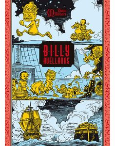 Billy Avellanas  #comics #graphicnovel