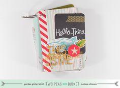 Two Peas October Garden Release - This Is Me (Mini Album) by melissa stinson