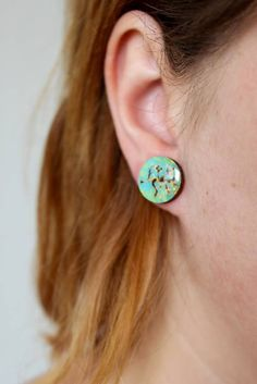 Martinuska / Strom/wood burned earrings