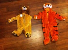 Lions and tigers. Bring on Halloween